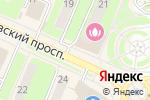 Схема проезда до компании Магазин бытовой химии в Пушкино