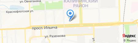 Шангри-Ла на карте Донецка