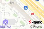 Схема проезда до компании ПласОкна в Москве