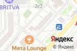 Схема проезда до компании МАКС в Москве
