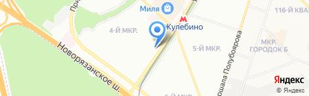 Магнит на карте Москвы