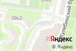 Схема проезда до компании Автомойка на Жулебинском бульваре в Москве