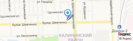 Электро Плюс на карте Донецка