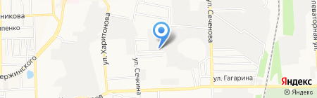 Дон-Айс на карте Донецка