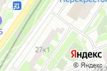 Схема проезда до компании Сластена в Котельниках