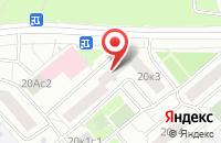Схема проезда до компании Дельта М в Москве