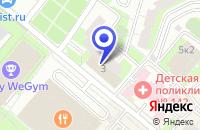 Схема проезда до компании МЕБЕЛЬНЫЙ МАГАЗИН ИНТЕРЬЕРТОРГ в Москве