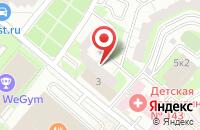Схема проезда до компании Строительные Рубежи в Москве