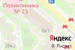 Схема проезда до компании ДЕЛФИ в Москве