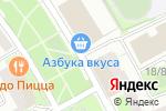 Схема проезда до компании Киоск по продаже печатной продукции в Котельниках