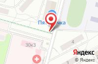 Схема проезда до компании Licani в Дзержинском