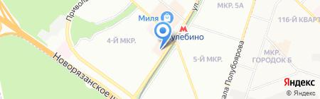 Планета Здоровья на карте Москвы