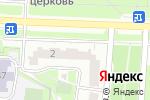 Схема проезда до компании Московский индустриальный банк в Москве