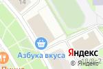 Схема проезда до компании Форум Проф в Котельниках