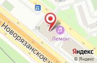 Схема проезда до компании Агва Русь Импорт в Москве