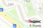 Схема проезда до компании Город гениев в Москве