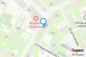 Двухкомнатная квартира в Пушкино Московская область, Надсоновская улица, 15