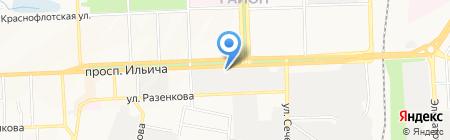 МТМ на карте Донецка