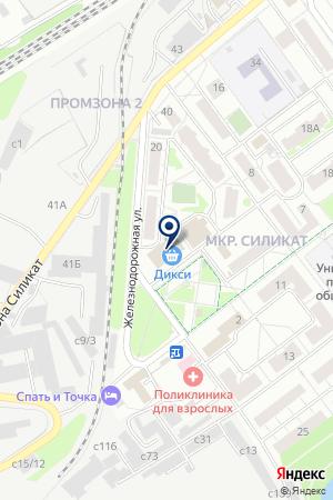 ПРОДУКТОВЫЙ МАГАЗИН МАГОМЕДОВ М.З. на карте Люберец