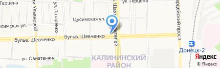 Банкомат ПроКредит Банк ПАО на карте Донецка