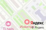 Схема проезда до компании TI nails в Москве