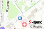 Схема проезда до компании Городская Похоронная Служба в Котельниках