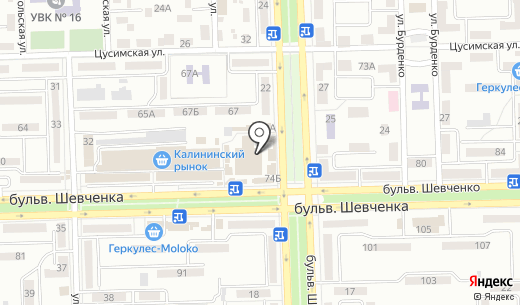 КолбикО. Схема проезда в Донецке
