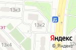 Схема проезда до компании Текстиль Лайф в Москве