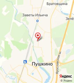ЖК «Новое Пушкино» в Пушкино на карте