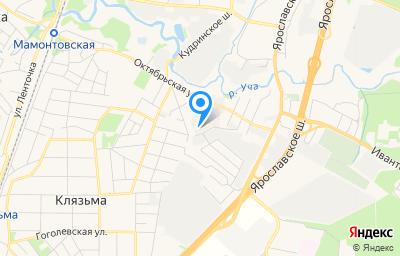 Местоположение на карте пункта техосмотра по адресу Московская обл, г Пушкино, ул Октябрьская, д 44 стр 2