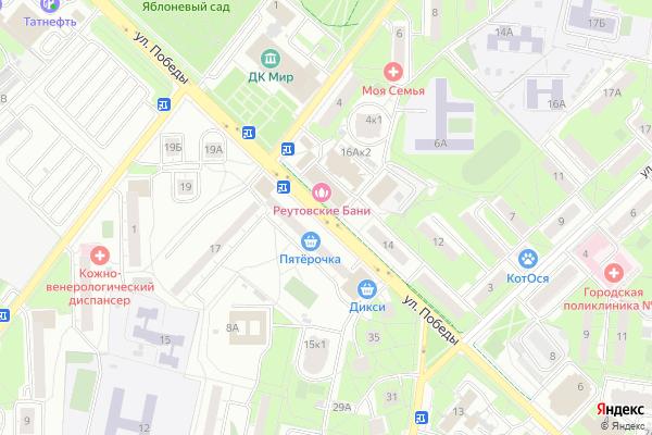 Ремонт телевизоров Улица Победы на яндекс карте