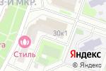Схема проезда до компании Апрель в Москве