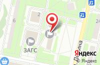 Схема проезда до компании Литературный Фонд Московской Области в Реутове