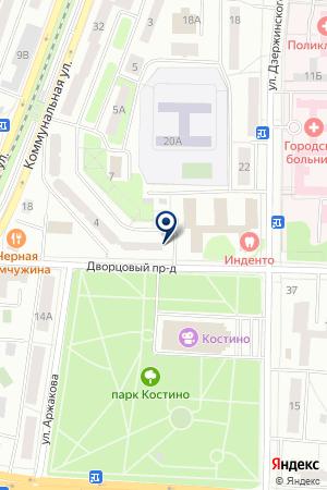 СПЕЦ-ТЕХНИК на карте Королева