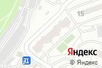 Схема проезда до компании Шиномонтажная мастерская в Котельниках
