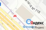 Схема проезда до компании Арттес в Москве