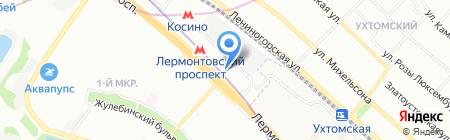 ТБС на карте Москвы