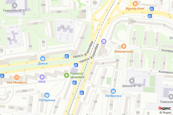 Ремонт телевизоров Город Королев на яндекс карте
