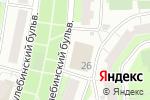 Схема проезда до компании Магазин по продаже кондитерских и хлебобулочных изделий в Москве