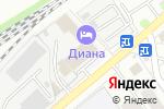 Схема проезда до компании ЗдравСити в Котельниках