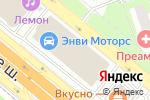 Схема проезда до компании DVEROF - интернет-магазин дверных конструкций в Москве