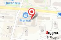 Схема проезда до компании Риэлторская Палата в Дзержинском