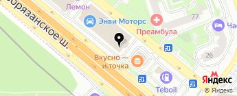 На Колесах.ru на карте Москвы
