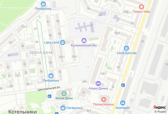 продажа квартир Кузьминский лес