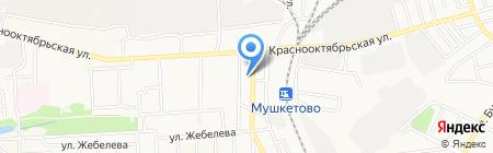 Цукерочка+ на карте Донецка