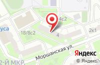 Схема проезда до компании КомТрейд в Москве