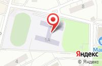 Схема проезда до компании Гимназия №4 в Дзержинском