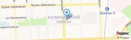 Магия на карте Донецка