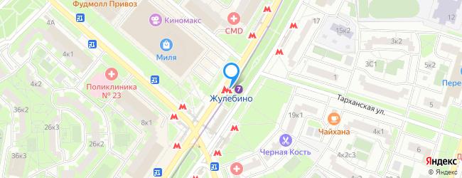 метро Жулебино