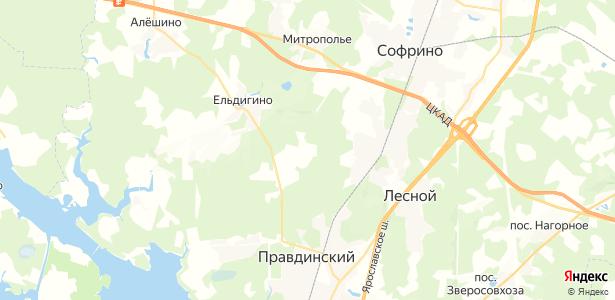 Матюшино на карте